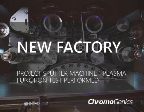 """Cover photo for news article about """"Project Sputter Machine 1 plasma function test performed."""