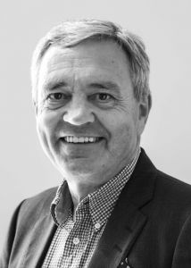 Black and white profil picture of Anders Brännström, board of directors.