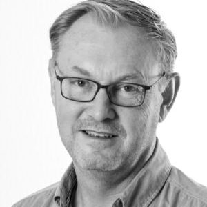 Black and white profil picture of Anders Pettersson, Sales Sweden at ChromoGenics