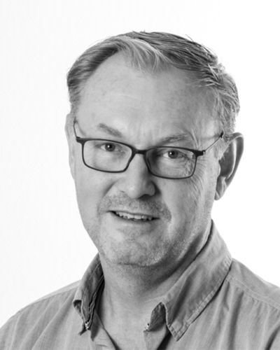 Black and white profil picture of Anders Pettersson, Sales Sweden at ChromoGenics.