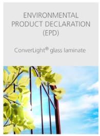 Environmental product declaration (EPD) of ConverLight glass laminate