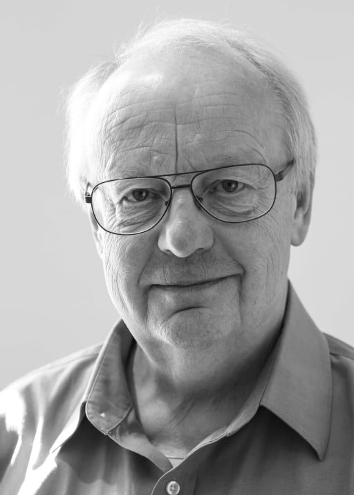 Black and white profil picture of Prof. Em. Claes-Göran Granqvist, board member at ChromoGenics