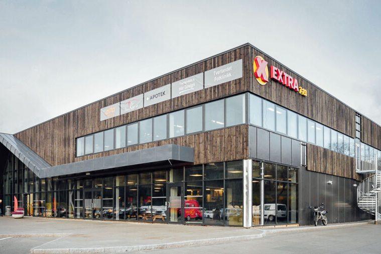 The exterior of Coop Bodö in Norway.