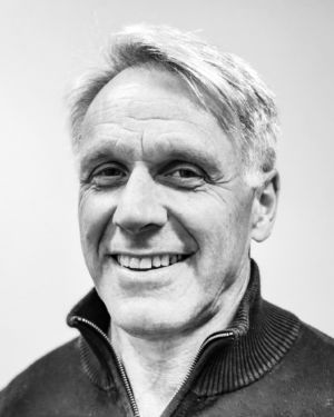 Black and white profil picture of Göran Wernqvist, Commercial Product Manager at ChromoGenics