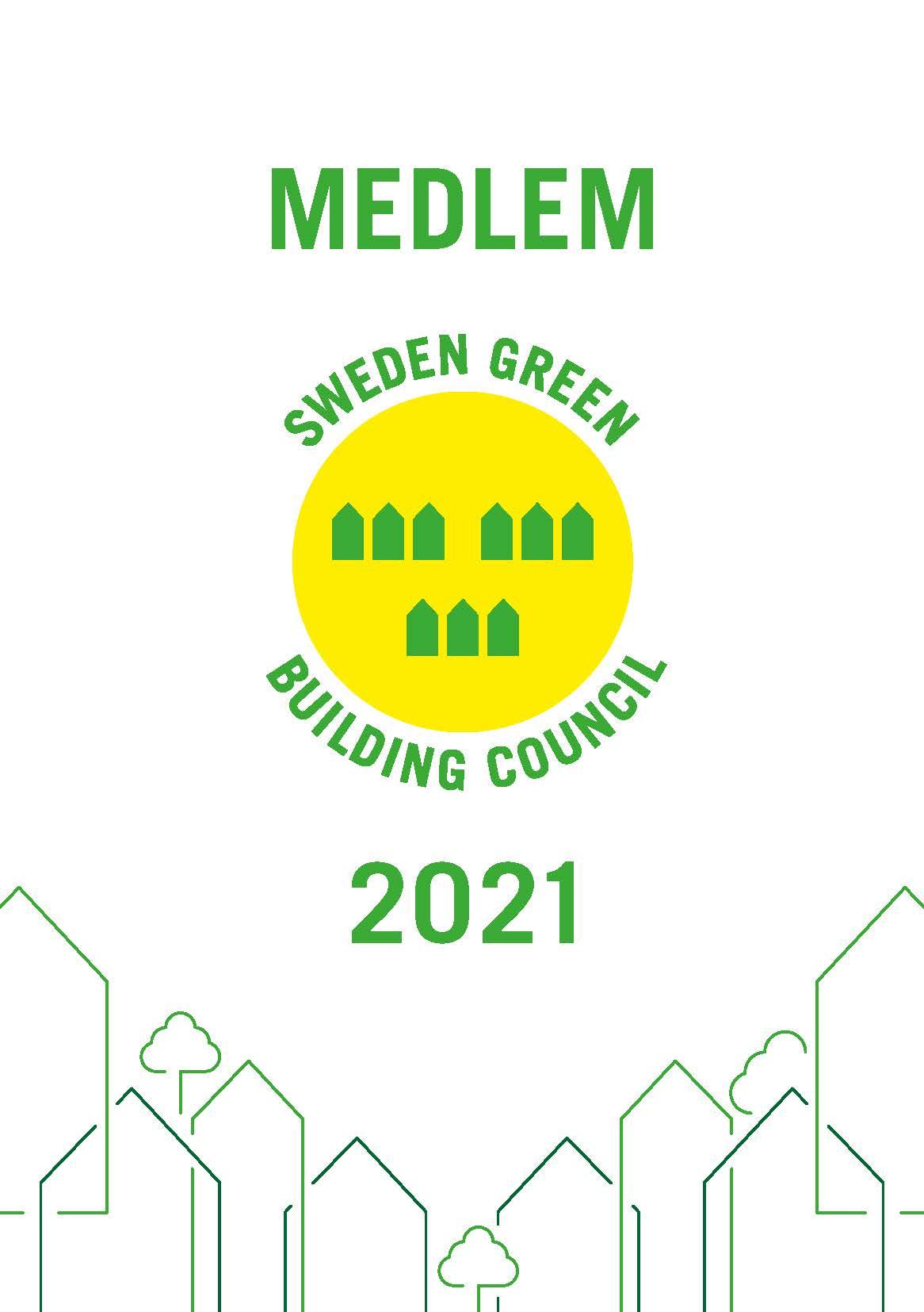 Medlemsbevis Sweden Green Building Council 2021