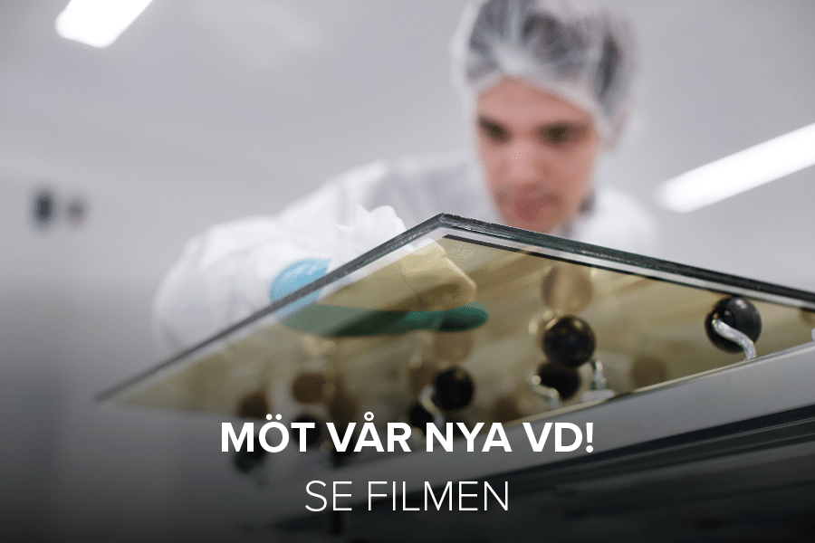 """Cover photo for news article about """"Möt vår nya VD!"""""""