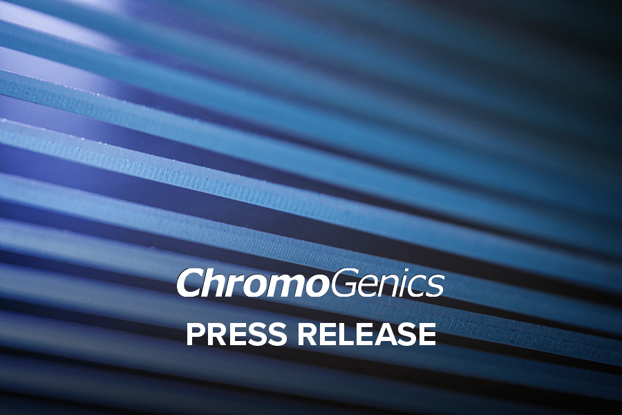 Blue striped cover photo for Press Release