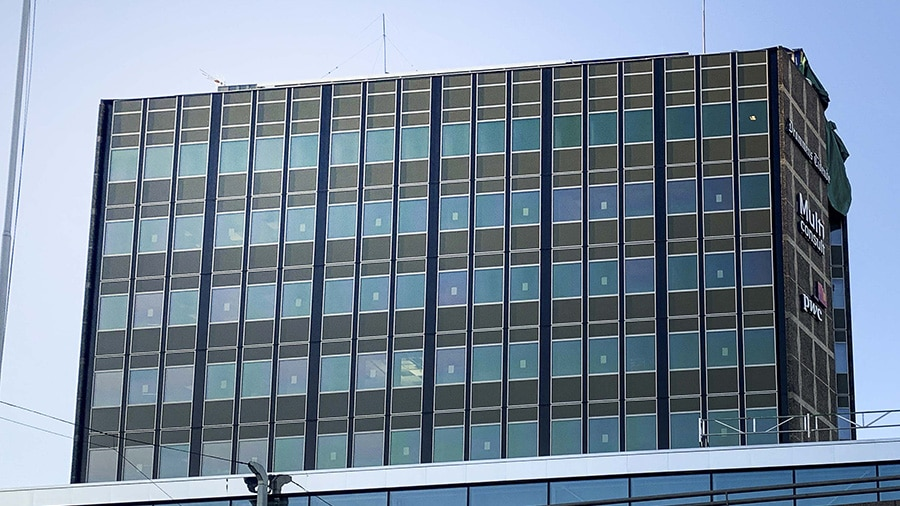 The Ticon building in Norway with ConverLight glass